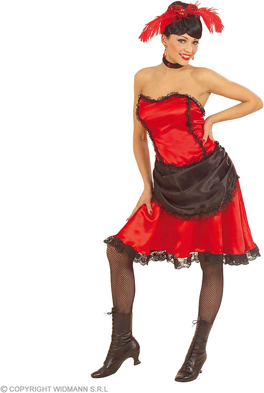WIDMANN Desconocido Disfraz de cabaretera para mujer: Amazon.es ...