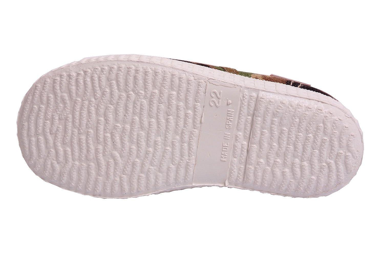 Cienta Kids 52035 Camo Laced Sneaker Toddler//Little Kid//Big Kid