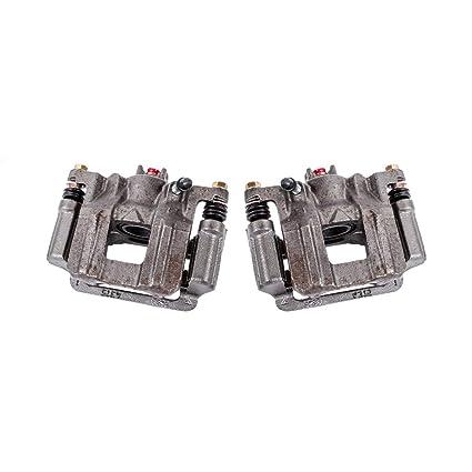 2 Hardware Brake Kit Callahan CCK04199 REAR Premium Semi-Loaded Original Caliper Pair