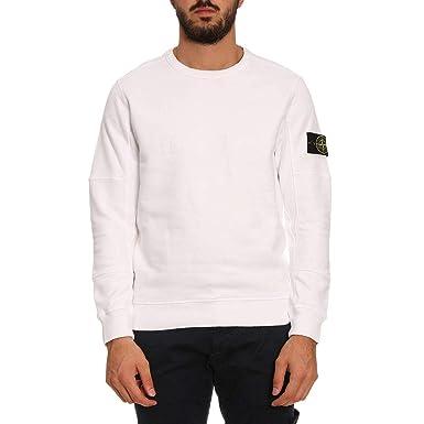 Qualitätsprodukte neuer & gebrauchter designer Niedriger Verkaufspreis Stone Island Herren Sweatshirt, Weiß L: Amazon.de: Bekleidung