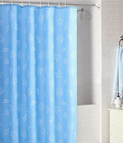 MYtodo Waterproof Fresh And Natural Shower Curtain Mould Proof Curtains 95quot