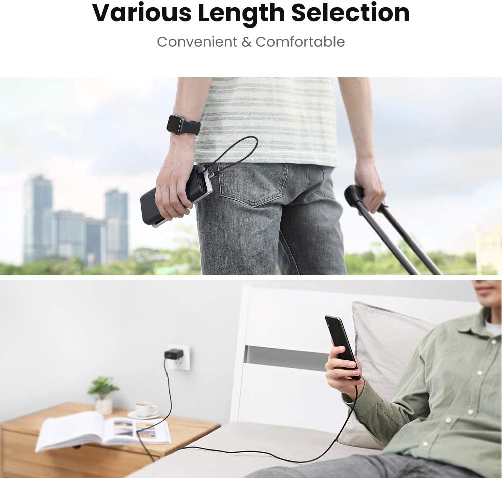 UGREEN Micro USB Cable 18w USB A to Micro B Android Charing Lead Fast Charge and Sync Cord for Samsung A10 S7 J6 Honor 8X Xiaomi A2 Lite Ulefone Note 7 PS4 etc 0.5m Huawei P Smart Y9 Moto G5 E5