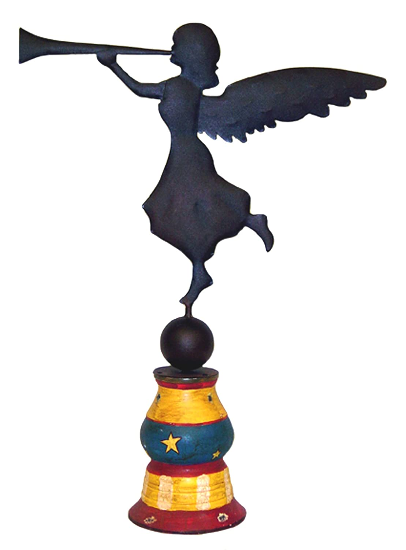 Primitive Angel Weathervane Decorative Accent