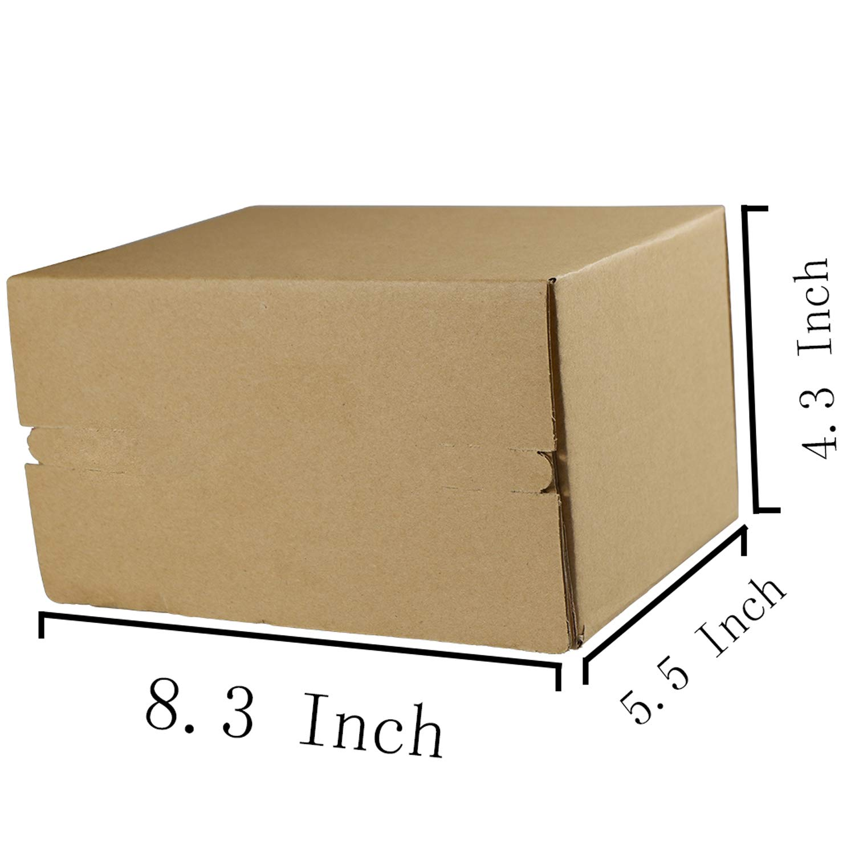 Amazon.com: Caja de cartón con cremallera, caja abierta para ...