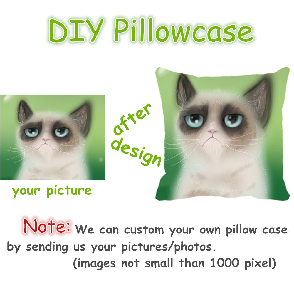 20*30 Cushion Case two sides Snoopy Custom Zippered Pillowcase 20*30