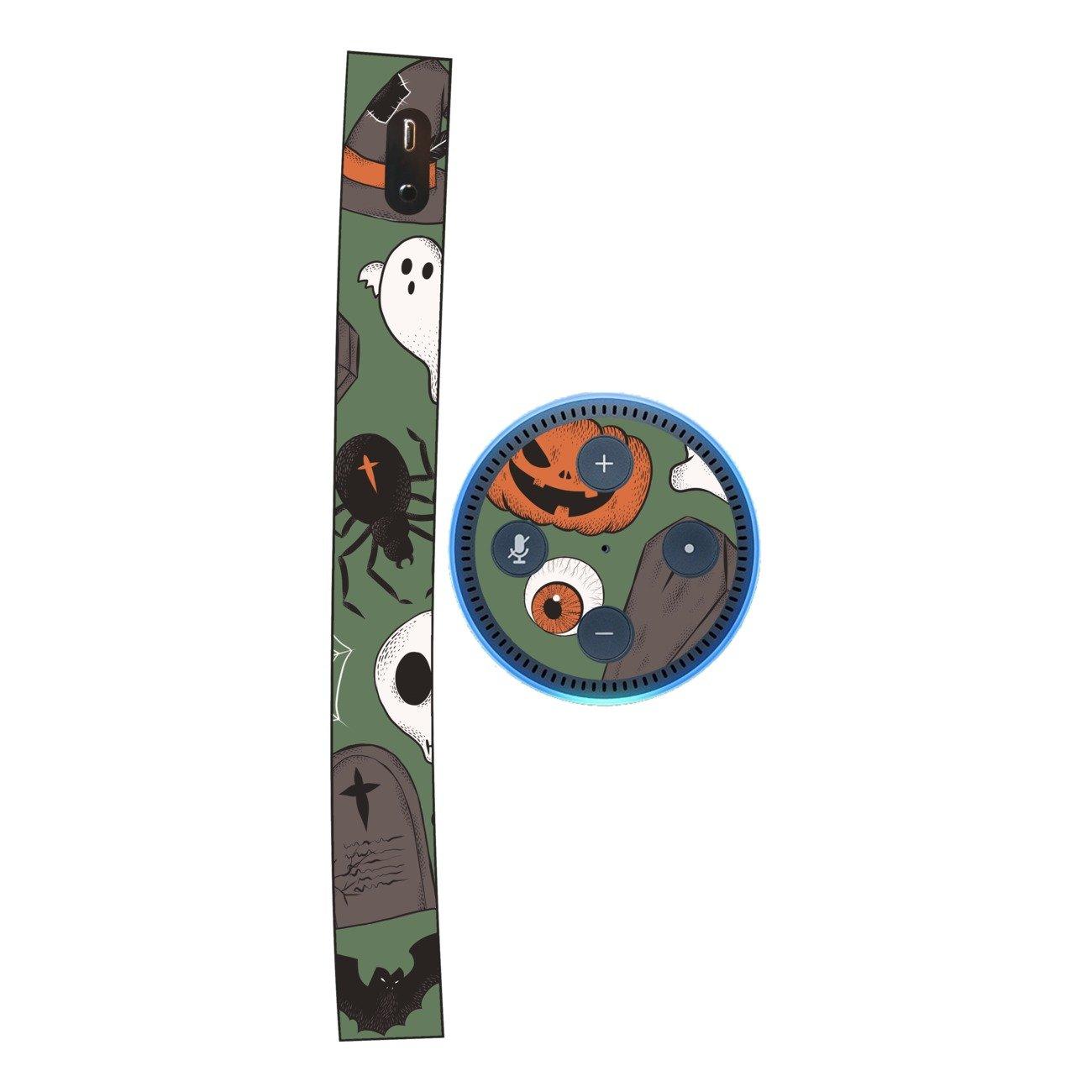 DISAGU SF SDI 5436_ 1211Design Pellicole per  Echo DOT–Motivo Halloween Modello 03' SF-sdi-5436_1211