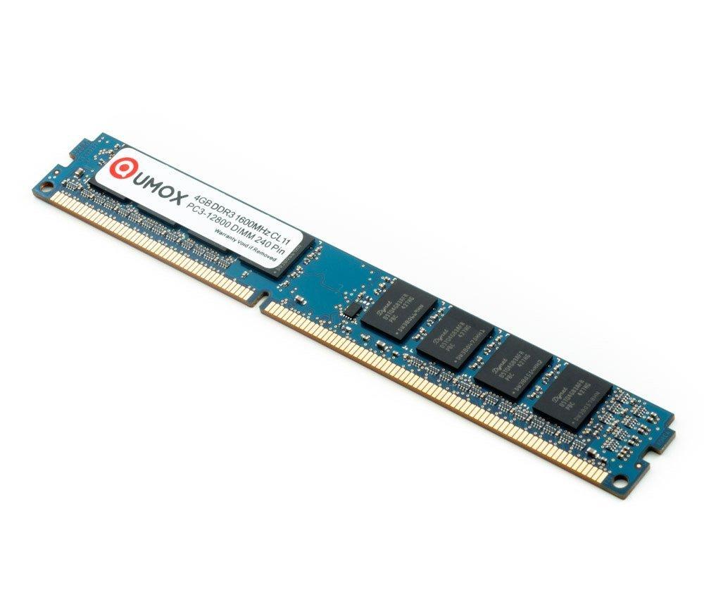 QUMOX Memoria DIMM 16GB (4X 4GB) DDR3 1600MHz 1600 PC3-12800 (240 ...