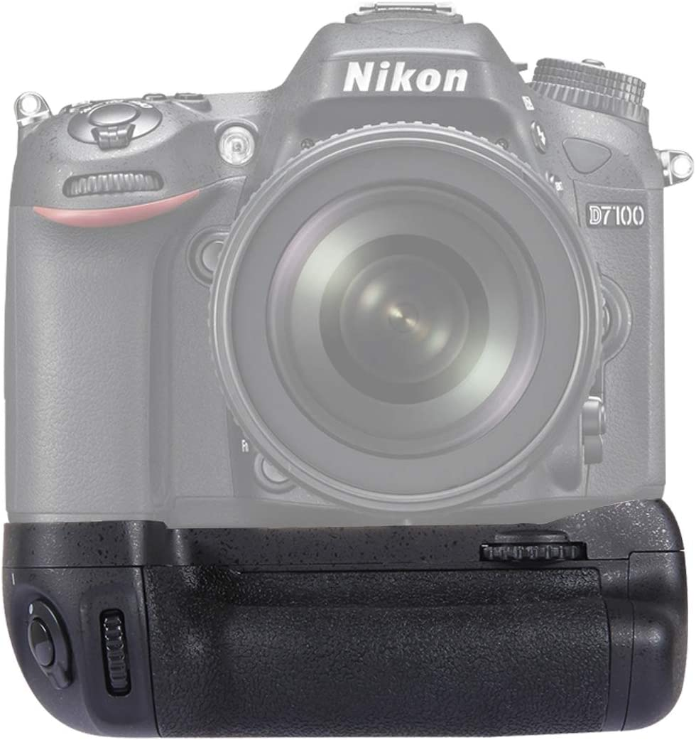 RUNNA Cámara Vertical Battery Grip for Nikon D7100 / D7200 cámara ...