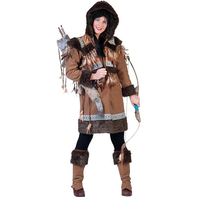 Disfraz de esquimal para mujer: Amazon.es: Juguetes y juegos
