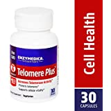 Enzymedica - Telomere Plus, Increases Telomerase Activity, 30 Capsules