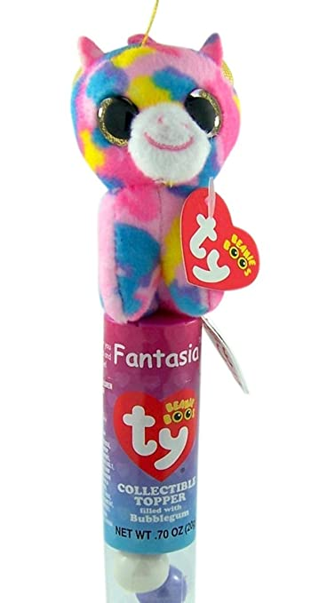7045a5af74 Amazon.com   Flix Candy Ty Beanie Boos Collectible Plush Topper Tube ...