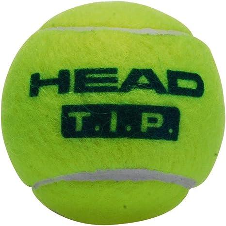 Head Tip III - Pelota de tenis, color verde: Amazon.es: Deportes y ...