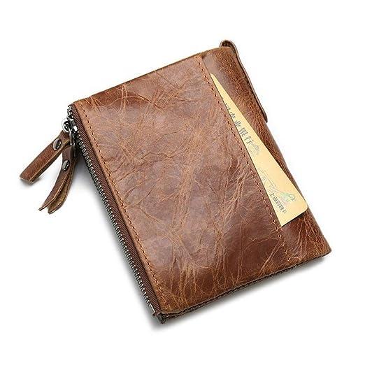 Amazon.com: Cartera de bolsillo para hombre, con bolsillo ...