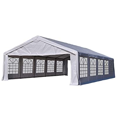 Outsunny 32' x 20' Multi-Use Heavy Duty Outdoor Party Tent/Carport