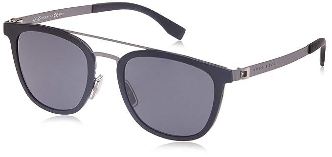 Hugo Boss 0838/S IR gafas de sol, Negro (Mtbk Smtdkrt/Grey ...