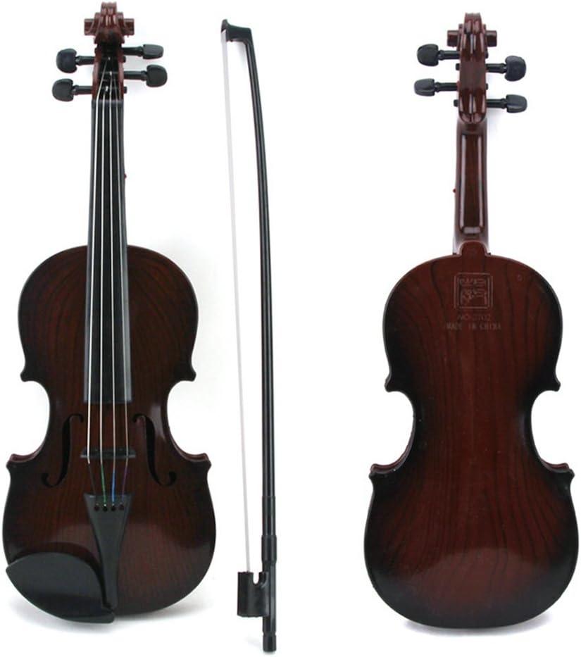 Kids Playable Violin Beginner Accordion Musical Toy Instrument,36x13 cm//B