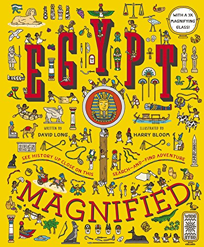 - Egypt Magnified: With a 3x Magnifying Glass