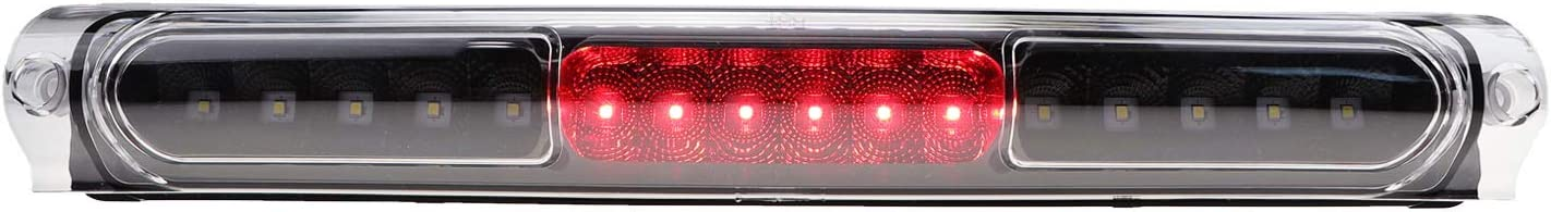 Youxmoto LED 3rd Brake Light Tail Light High Mount Stop Light Waterproof Fit for 1997-2003 Ford F-150 2004 Ford F-150 Heritage XL3Z13A613AA Black Housing Smoke Lens FO2890102