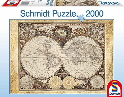 SCHMIDT Historical Map of the World Puzzle (2000-Piece)