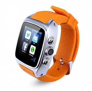 Reloj Inteligente bluetooth con Monitor de sueño,Contador de Calorias,Notificación de SMS,Rastreador de Actividad,Control de Música,Bluetooth Relojes con ...