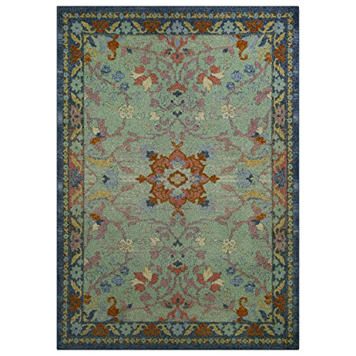 Area Rugs, Maples Rugs [Made in USA][Tilda Artwork Collection] 7' x 10' Non Slip Padded Large Rug for Living Room, Bedroom, and Dining Room by Maples Rugs (Image #1)