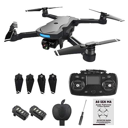 pegtopone dron cámara HD 1080P, Drones Plegables de 4 Ejes con un ...