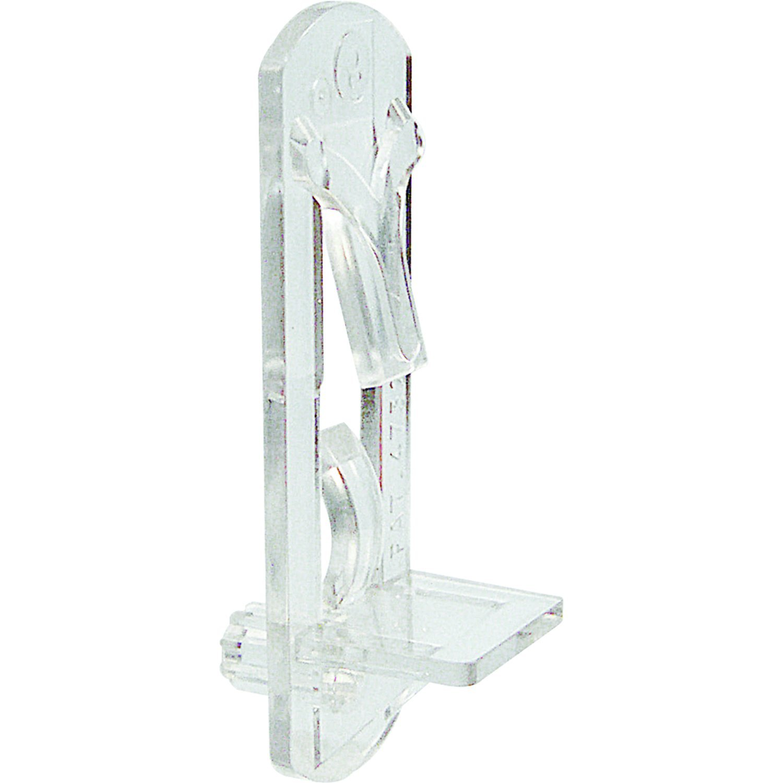Slide-Co 243422 Shelf Support Peg, Self-Locking, 5mm, 3/4-Inch Shelf, Clear,(Pack of 6)