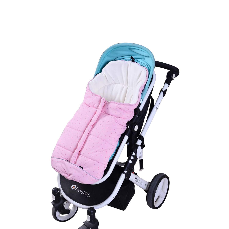 Hibabys Footmuff for Stroller Universal Waterproof Baby Sleeping Bags Bunting Bag