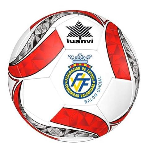 Luanvi Balon Oficial FEDERACION Futbol Comunidad Valenciana FFCV ...