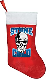 CXN Y KING Stone Cold Steve Austin Christmas Ornaments Bags Christmas Ornaments Christmas Socks Candy Gift Bag