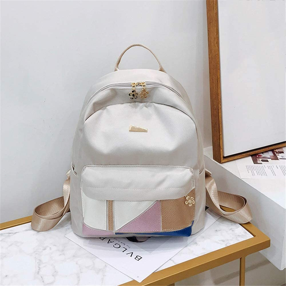 Color : Black, Size : 27X13X33cm TangFeii Womens Backpack Purse Womens Nylon Waterproof Backpack Handbag Rucksack School Shoulder Bag Casual Daypack