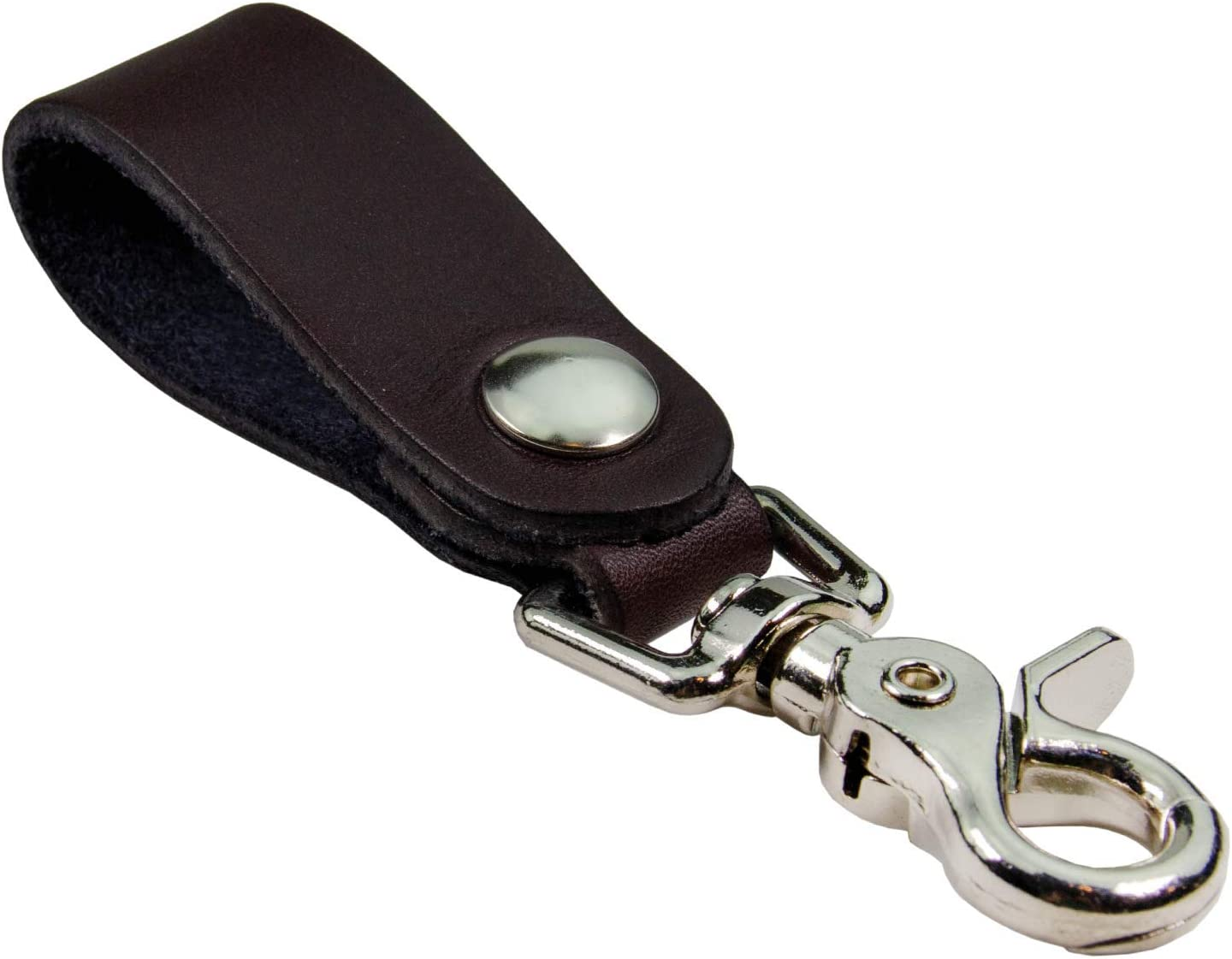 Relentless Tactical | The Ultimate Leather Keychain | Made in USA | Hand Made of Full Grain Leather | Luxury Valet Keychain | Quick Detach | Leather Belt Keeper | Key Ring Organizer