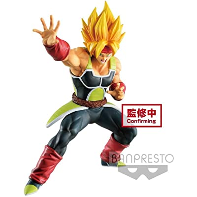 Banpresto 39763 Dragon Ball Z Bardock Figure, Multiple Colors: Toys & Games