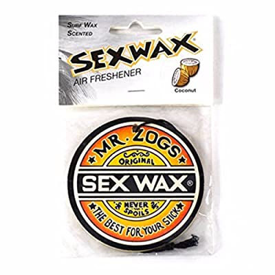 Sex Wax Air Freshener (Single, Coconut): Sports & Outdoors