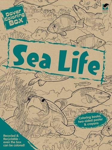 Dover Coloring Box -- Sea Life (Dover Fun Kits) (Kits Fun Dover)