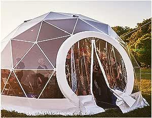ZYJFP Tienda Al Aire Libre Transparente, Anti-Privacidad De La Bóveda del Aire Semitransparente del Garden Igloo Patio Trasero Que Acampa De La Familia Jardín,10SquareMeter: Amazon.es: Hogar