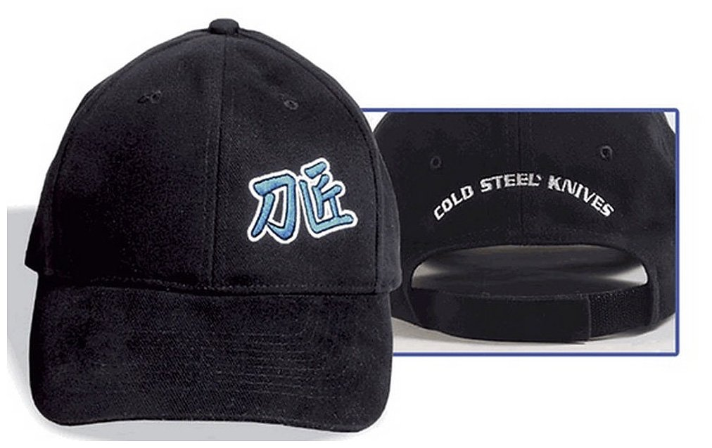 Cold Steel Embroidered Hat with Master Bladesmith