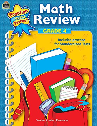 Math Review Grade 4 (Practice Makes Perfect (Teacher Created Materials))