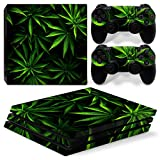 MODFREAKZ™ Console and Controller Vinyl Skin Set - Weed Farm for PS4 Pro