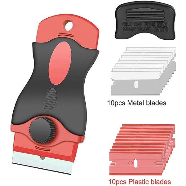 Wolfcraft 4287000 Rascador con cuchillas de plástico: Amazon ...
