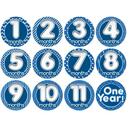 Original StickNsnap Bubbles milestones stickers product image