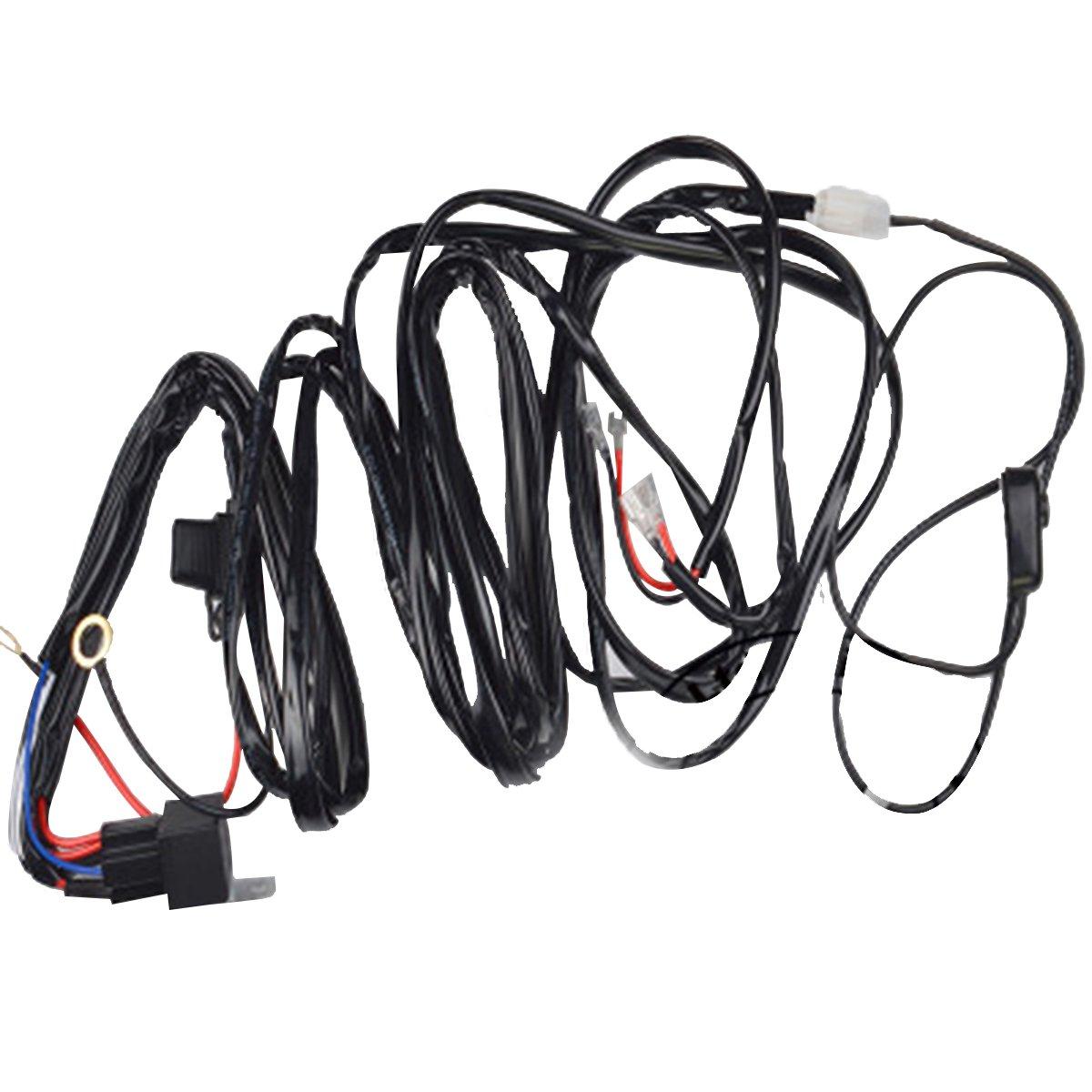 WINOMO Auto Licht Kabelbaum Relais Adapter mit ON / OFF Schalter für ...
