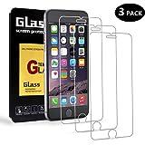 [Lot de 3] Verre Trempé pour iPhone 6 / 6S, AimeCerises Film Protection en Verre Trempé écran Protecteur Vitre pour iPhone 6 / 6S, Sans Bulles, Ultra Résistant Dureté 9H, 3D Touch Compatible (4.7 Pouces)