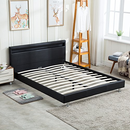 Double Bed With Led Lights