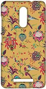Macmerise Payal Singhal Chidiya Mustard Sublime Case For Xiaomi Redmi Note 3