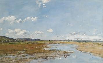 Amazon.com: The Museum Outlet - Deauville, Riverscape, 1896 ...