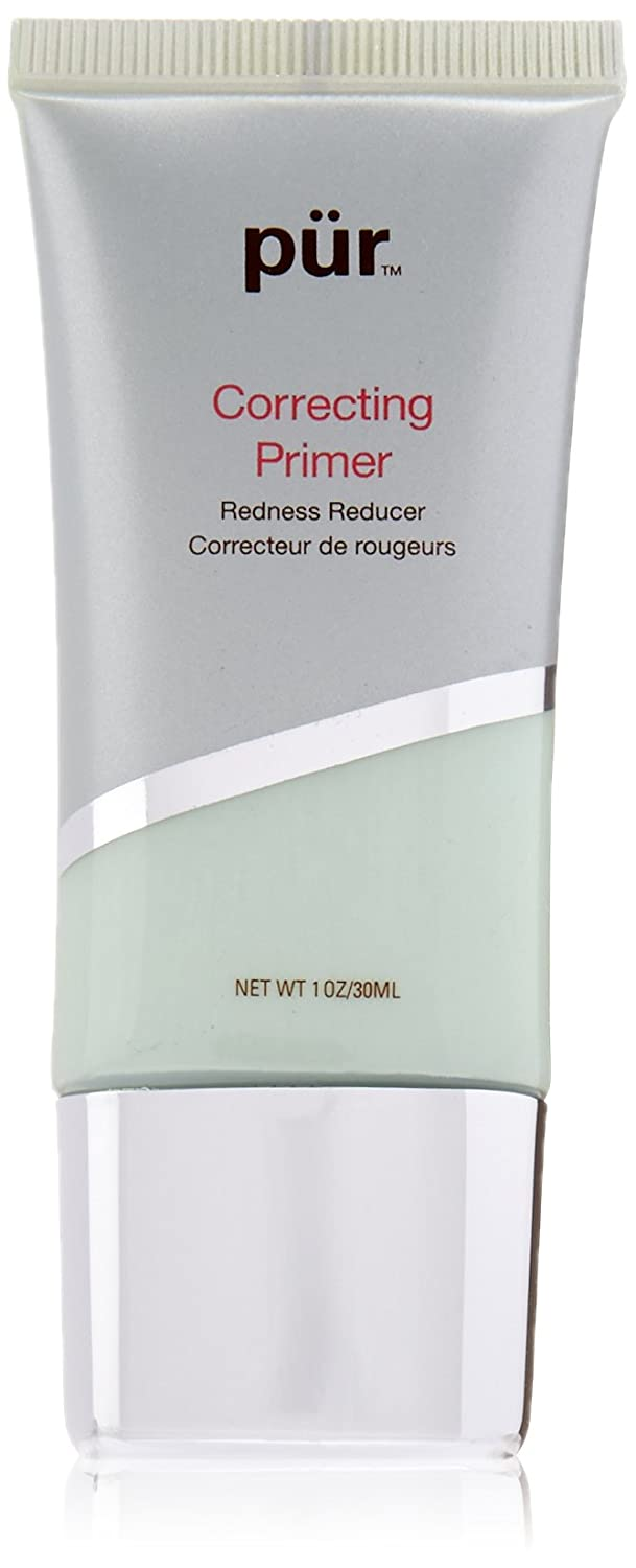 Pur Minerals Correcting Primer Redness Reducer, Green, 1 Fluid Ounce 951153110