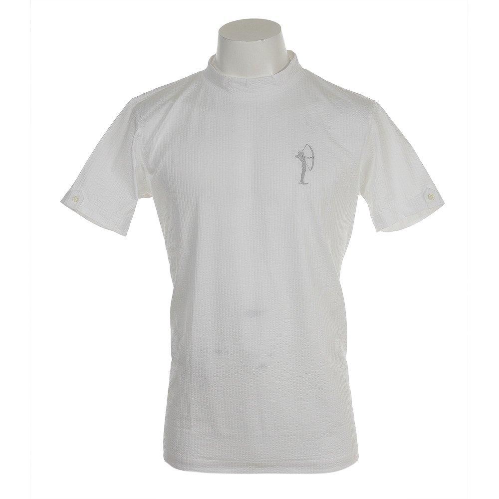 フィドラ(フィドラ) 半袖丸襟シャツ FV57LH10 WHT 42 ホワイト B07BGJ2DZT
