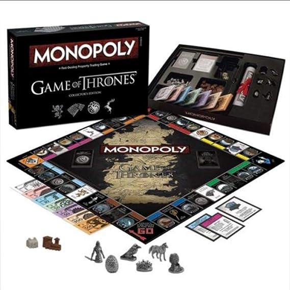 Iu Monopoly: Juego de Tronos edición coleccionista: Amazon.es: Deportes y aire libre