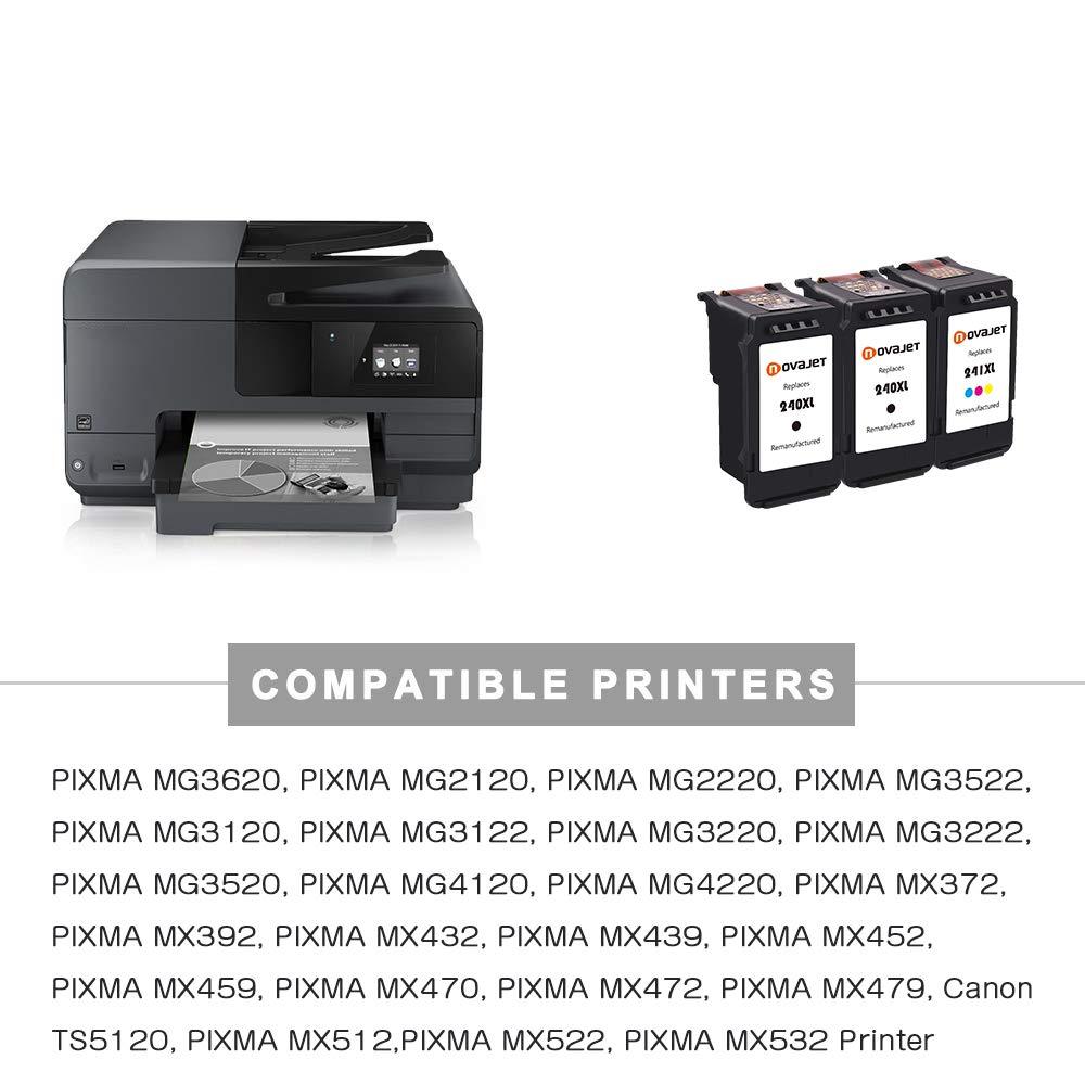 Novajet REMANUFACTURADO cartucho de tinta repuesto para PG 240 x L ...